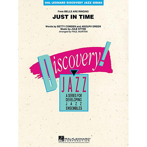 Hal Leonard Just in Time Jazz Band Level 1-2 Arranged by Paul Murtha