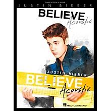 Hal Leonard Justin Bieber - Believe Acoustic for Piano/Vocal/Guitar (P/V/G)