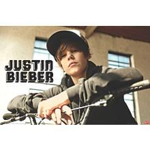 Justin Bieber - Bike Poster Premium Unframed