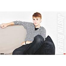 Justin Bieber - Chillin Poster Premium Unframed