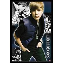 Justin Bieber - Cool Poster Framed Black