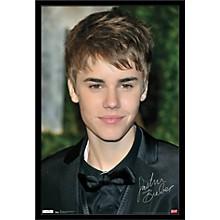 Justin Bieber - Locks Poster Framed Black