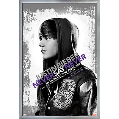 Trends International Justin Bieber - Never Say Never Poster