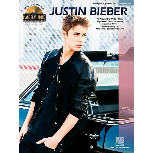 Hal Leonard Justin Bieber - Piano Play-Along Volume 110 Book/CD