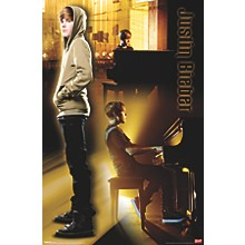 Justin Bieber - Piano Poster Premium Unframed