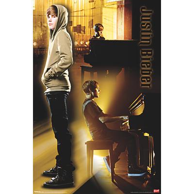 Trends International Justin Bieber - Piano Poster