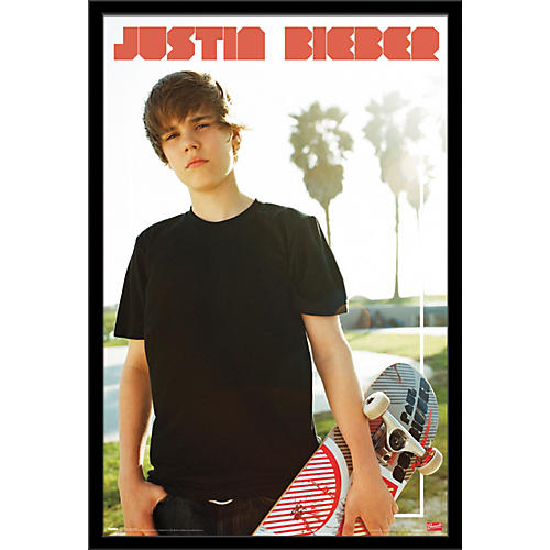 Trends International Justin Bieber - Skateboard Poster