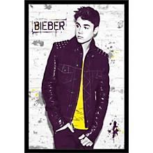 Justin Bieber - Wall Poster Framed Black