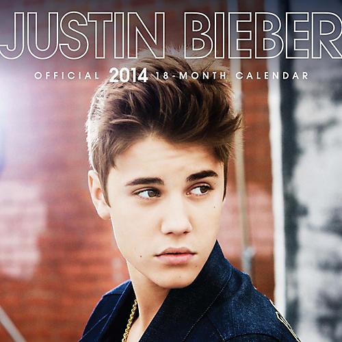 Browntrout Publishing Justin Bieber 2014 Calendar Square 12x12