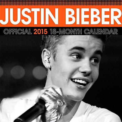 Browntrout Publishing Justin Bieber 2015 Calendar Square 12x12