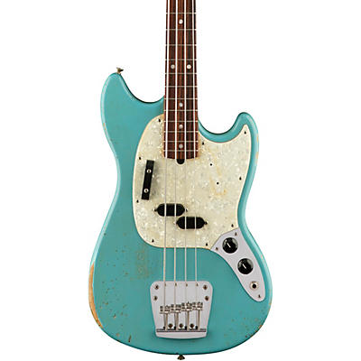 Fender Justin Meldal-Johnsen Road Worn Mustang Electric Bass