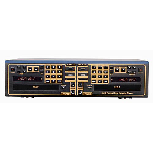 RSQ K-2N Dual Tray Karaoke Player