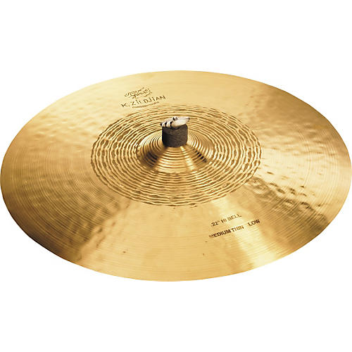Zildjian K Constantinople Hi Bell Medium-Thin Ride, Low Cymbal