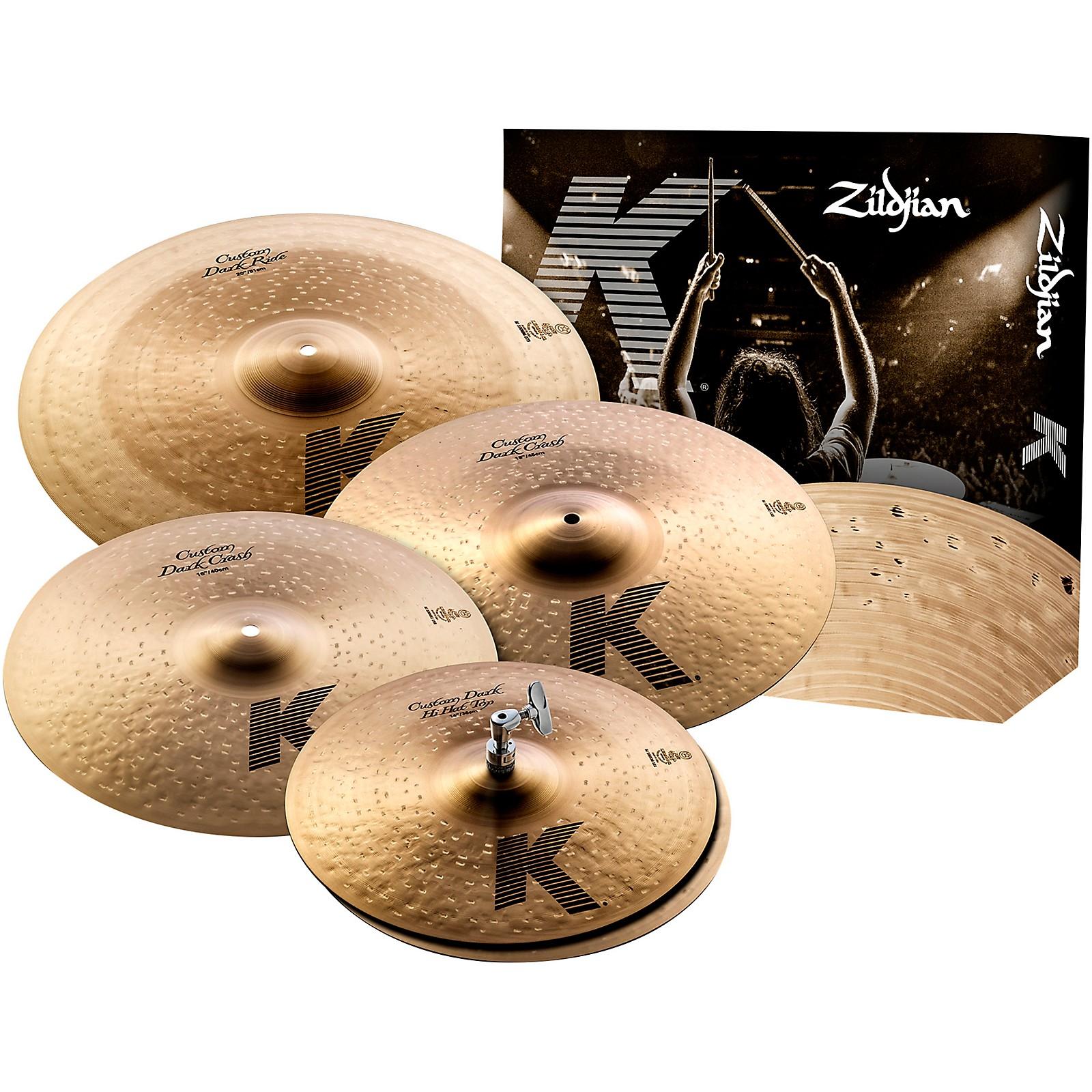 Zildjian K Custom Dark Box Set
