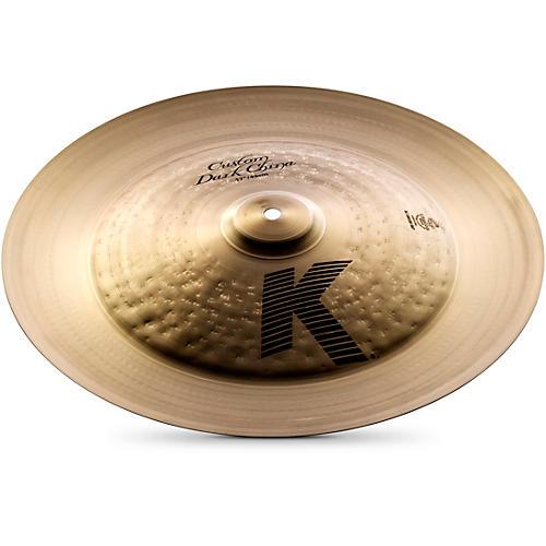 zildjian k custom dark china cymbal 17 in musician 39 s friend. Black Bedroom Furniture Sets. Home Design Ideas