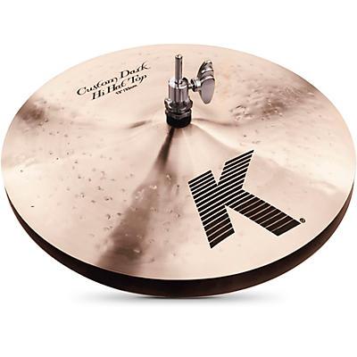 Zildjian K Custom Dark Hi-Hat Cymbal Pair