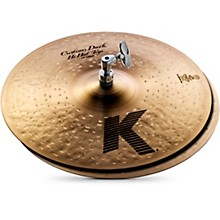 K Custom Dark Hi-Hat Cymbal Pair 14 in.