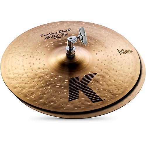 zildjian k custom dark hi hat cymbal pair 14 in musician 39 s friend. Black Bedroom Furniture Sets. Home Design Ideas