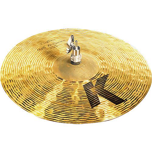 Zildjian K Custom High Definition Hi-Hat Cymbal Top