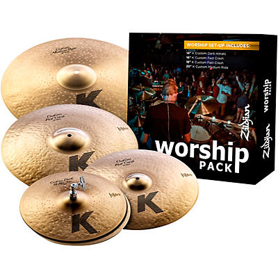 Zildjian K Custom Series Cymbal Pack Worship