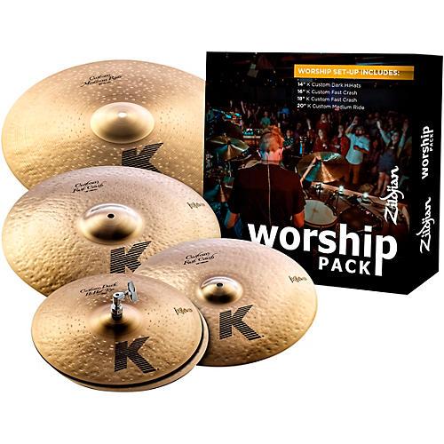 Zildjian K Custom Series Cymbal Set Worship