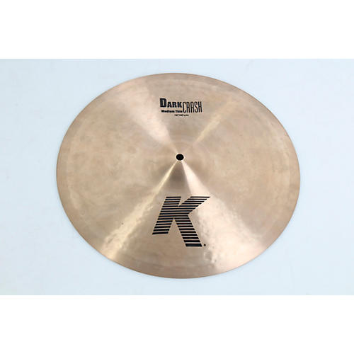 Zildjian K Dark Medium-Thin Crash Cymbal Condition 3 - Scratch and Dent 16 in. 194744324659