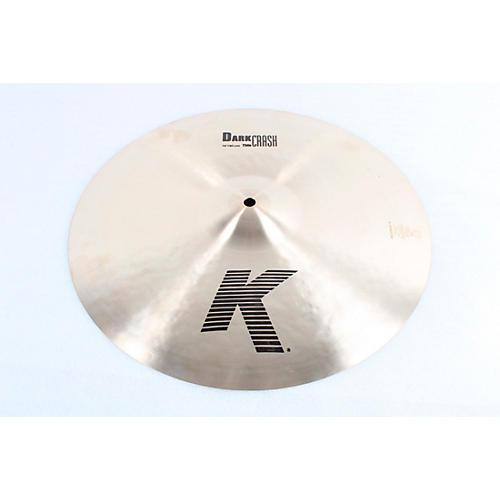 Zildjian K Dark Thin Crash Cymbal Condition 3 - Scratch and Dent 16 in. 194744294334