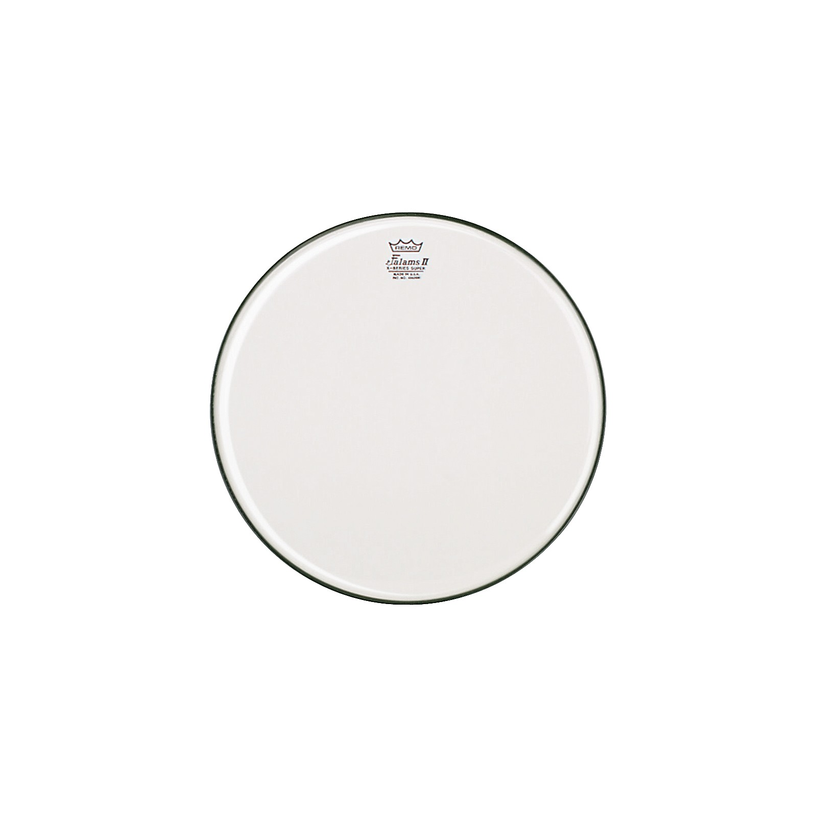 Remo K-Falam Smooth White Snare Side Drum Head