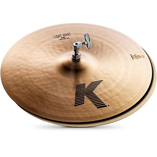 Zildjian K Light Hi-Hat Pair Cymbal 16 in.