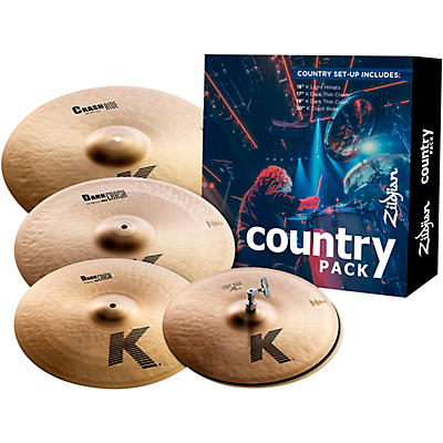Zildjian K Series Cymbal Pack Country