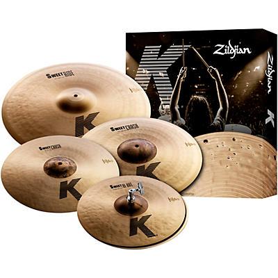 """Zildjian K Sweet Cymbal Pack, 14"""", 16"""", 18"""", 21"""""""