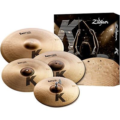 """Zildjian K Sweet Cymbal Pack, 15"""", 17"""", 19"""",  21"""""""