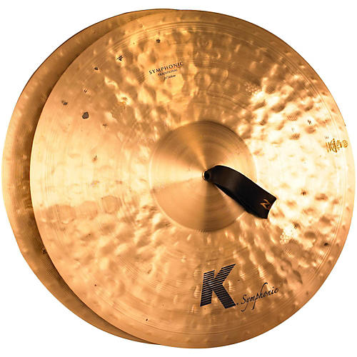 Zildjian K Symphonic Orchestral Crash Cymbal Pair 19 in.