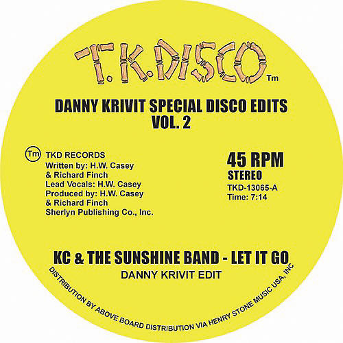 Alliance K.C. & Sunshine Band - Danny Krivit Special Disco Edits Vol. 2