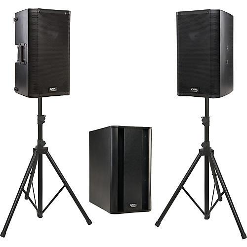 QSC K10 / KSub Powered Speaker Package