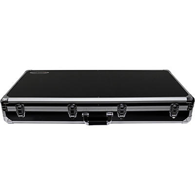 """Odyssey K10PT01BLK Black DJ Coffin for Two Numark PT01 Scratch Turntables and A Compact 10"""" Format DJ Mixer"""