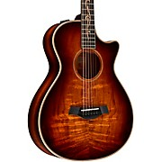 K22ce 12-Fret V-Class Grand Concert Acoustic-Electric Guitar Shaded Edge Burst