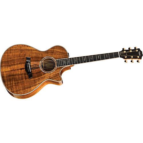 Taylor K22ce-L Koa Grand Concert Left-Handed Acoustic-Electric Guitar