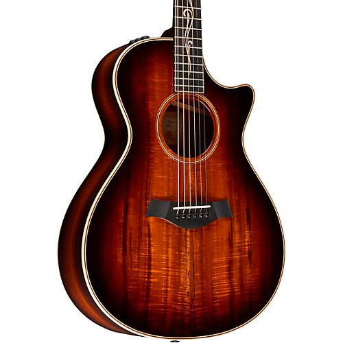 Taylor K22ce V-Class Grand Concert Acoustic-Electric Guitar Shaded Edge Burst