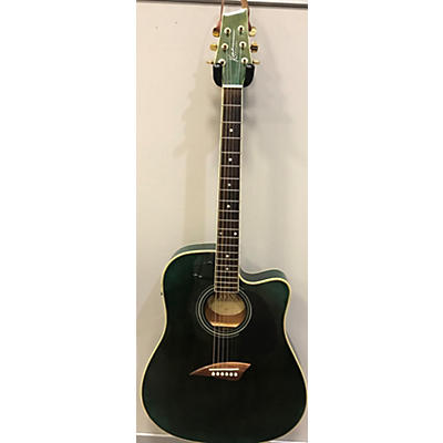 Kona K2TBL Acoustic Electric Guitar