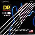 DR Strings K3 NEON Hi-Def White Electric Medium Guitar Strings thumbnail