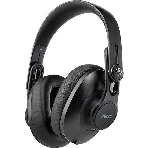AKG K361-BT Over-Ear, Closed-Back Foldable Studio Headphones With Bluetooth Black