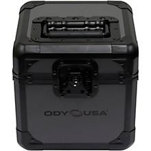 "Open BoxOdyssey K45060BLG Black Krom on Gray Record/Utility Case Holds 60 7"" Records"