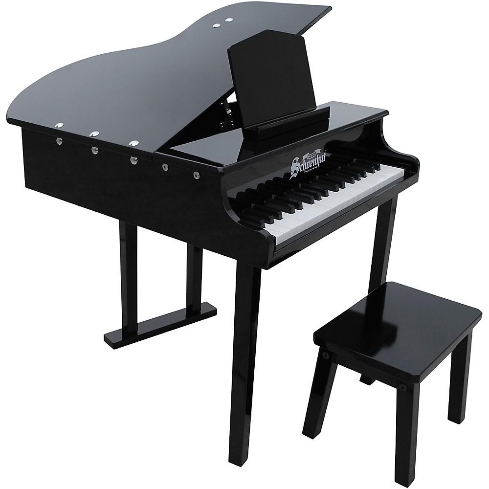 Schoenhut 37-Key Concert Grand Toy Piano Black