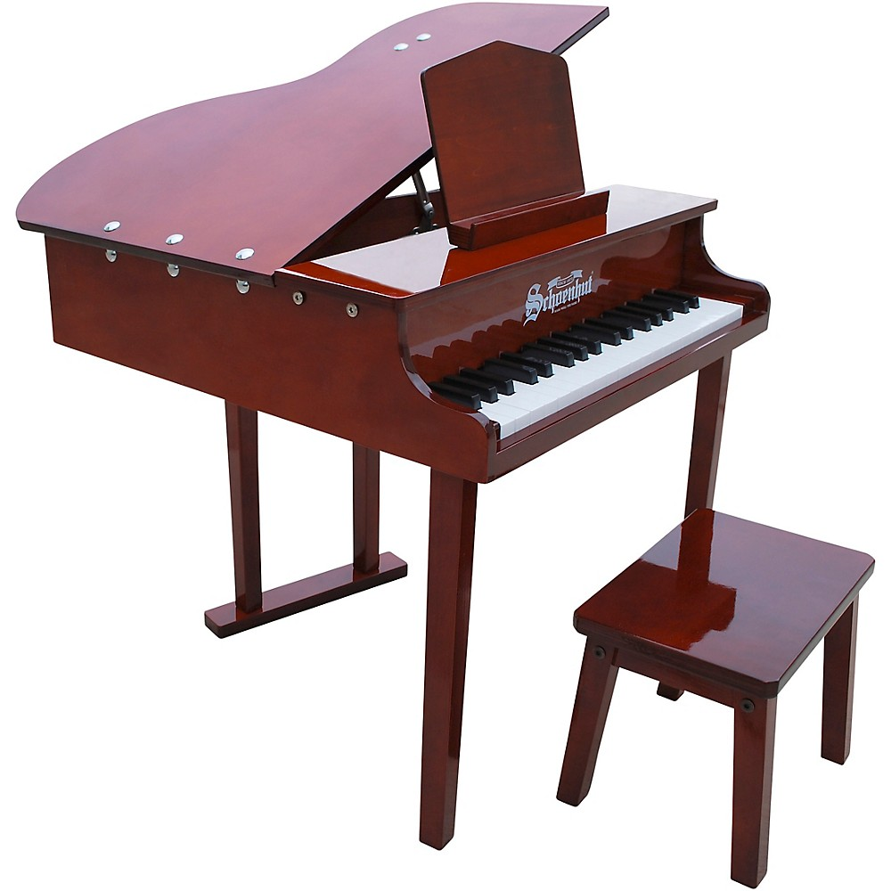 Schoenhut 37-Key Concert Grand Toy Piano Red