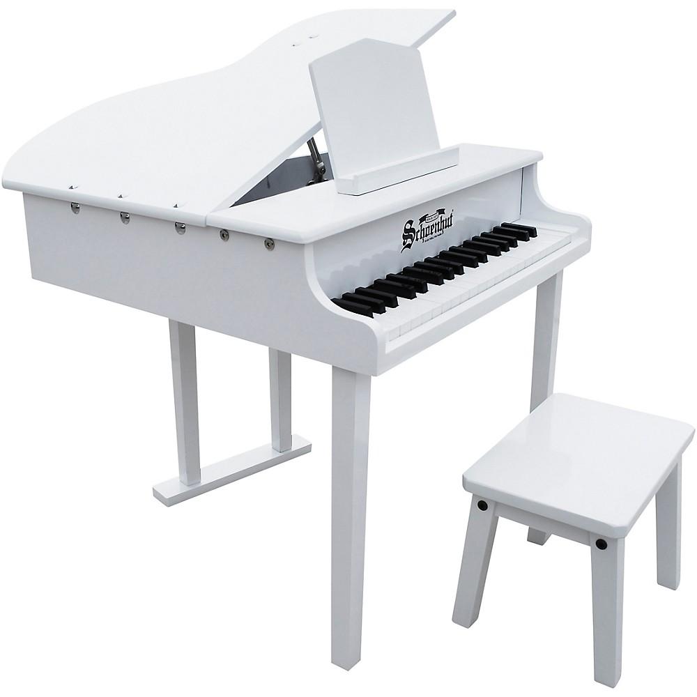 Schoenhut 37-Key Concert Grand Toy Piano White