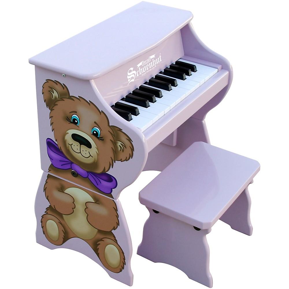 Schoenhut 25-Key Toy Piano With Bench Purple
