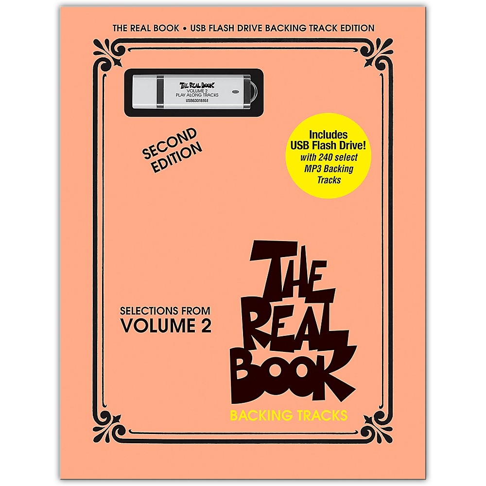 Details about The Real Book Backing Tracks - Selections From Vol 2, 2nd Ed  on USB Flash Drive