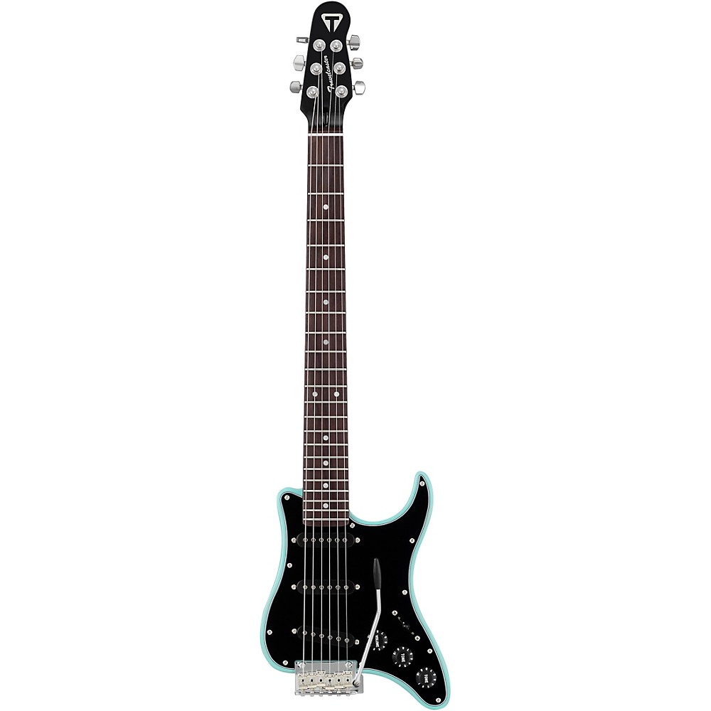 Traveler Guitar Travelcaster Deluxe Electric Travel Guitar With Gig Bag Mint Chip
