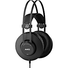 AKG K52 Closed-Back Headphones with Professional Drivers